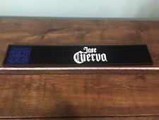 """Jose Cuervo 21"""" X 3 1/2"""" Bar Spill Mat Rubber New"""