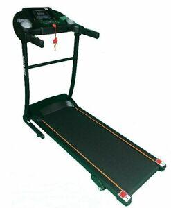Electric Motorised Treadmill Fitness Running Machine 3 Incline Levels 1-10KM/H