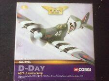 Corgi AA31906 Spitfire MkVB-4Q VCS-7 US Navy D-Day Normandy 1944 Limited Edition