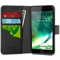 iPhone 7/8 Plus i-Blason Leather Wallet Case Kickstand Folio Cover w/Card Holder