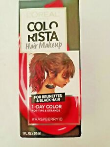 Loreal Colorista One Day Hair Makeup #RASPBERRY10 1 Fl Oz Red