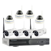 8CH Home Outdoor Wireless Security System CCTV IP Camera and Hard Drive Select
