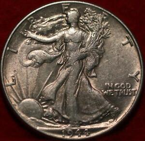 1944 Philadelphia Mint Silver Walking Liberty Half