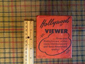 Vintage Craftsmans Guild Hollywood Viewer for 35mm Film & Slides in Original Box