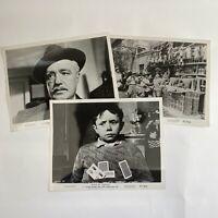 Lot Of Vintage Photos Movie Stills Gold Of Naples 1957 Eduardo De Filippo