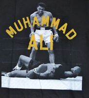 Muhammad Ali Boxing Knock Out Small T-Shirt Adult Tee Officially Licensed Ali