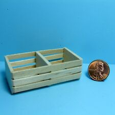 Dollhouse Miniature Large Double Wood Crate for Store & Market