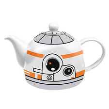 123897 STAR WARS BB-8 CERAMIC TEAPOT CHARACTER DESIGN TEA POT