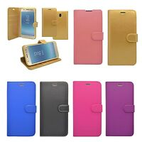 For Samsung Galaxy J5 2017 Wallet Book Flip In Various Colours Cover Case