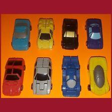 Vintage 1989 G1 Transformer Micromasters Sports Car Patrol Autobots Complete Lot