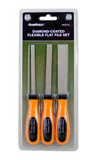 3-Pc Diamond Coated Flexible Flat File Set