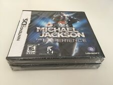 Michael Jackson: The Experience (Nintendo DS, 2010) NEW