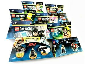 LEGO Dimensions Fun Pack - SELECT VARIABLE FROM LISTING - NEW