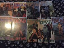 THE WALKING DEAD ALL OUT WAR 115 116 117 118 119 121 122 123 124 Near Complete