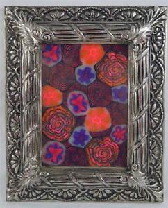 Outsider Art Polymer Design Framed 9x11