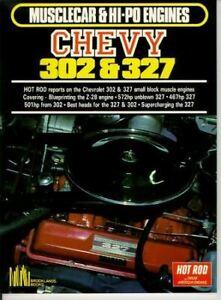 Chevy 302 & 327 Chevrolet Engine 572 Hp 467Hp