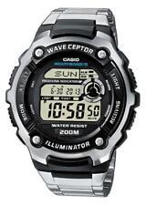 Casio Wave Ceptor Funkuhr WV-200DE-1AVER Digital Schwarz,Silber