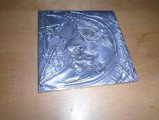 Don Drumm Studios 4x4 Aluminum Moon and Stars piece of art FREE SHIPPING