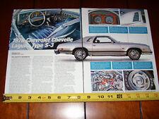1976 CHEVROLET CHEVELLE LAGUNA TYPE S-3 - ORIGINAL 2006 ARTICLE