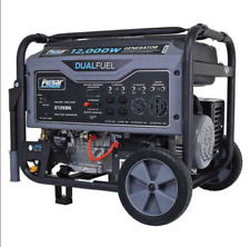 Pulsar G12KBN 12000W Dual Fuel Portable Generator - Space Gray