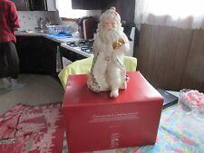 AMZING+GORGEOUS~Lenox Holiday Christmas Santa Collection Cookie Jar~~NICE!!