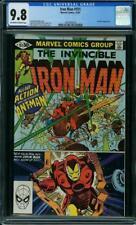 Iron Man #151 CGC 9.8 1981 Avengers! Ant-Man! Hulk! Thor! G7 138 1 cm
