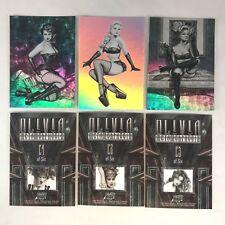 "OLIVIA De BERARDINIS ""METAMORPHOSIS"" (2002) Complete HOLOFOIL Chase Card Set"