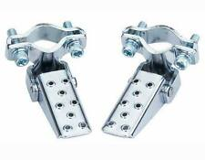 Steel Foldable folding Fork Step pegs Chrome. BMX. MTB. Road Bike (151957)