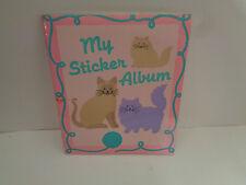 Vintage Sandylion Sticker Album  ... Katzen ...  Ontario - Canada 90er Jahre