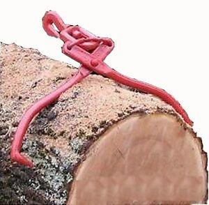 Forester Heavy Duty Swivel Skidding Tongs Logs Wood