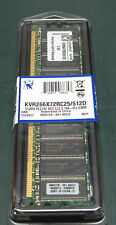 KINGSTON kvr266x72rc / 512 (512 MB, RAM DDR - 266 Mhz, DIMM 184-pin)