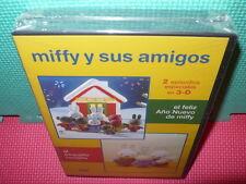 MIFFY - 2 DVDS - 2 EPISODIOS EN 3D - PRECINTADA