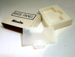 Minolta Wide Panel Diffuser adapter 8668-500 for Maxxum 200X Flash Genuine