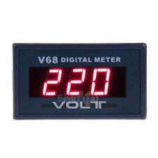 New Red LED Digital Ammeter Voltmeter LCD Panel Display Volt Meter AC 0-600V