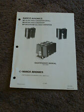 NARCO MP 15 MP 20 MP 200 Voltage Convertor Service Maintenance Manual Schematic