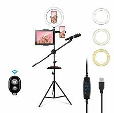 """10"""" Led Ring Light with Tripod Stand & Cell Phone Holder for Video 10 inches"""