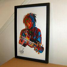 Bob Marley The Wailers Singer Guitar Reggae Music Print Poster Wall Art 11x17
