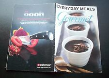 EVERY DAY MEALS GOURMET RECIPE BOOKLET 2005 ENGLISH ILLUSTRATED