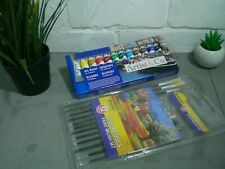 Brushes Oils Artists Set Tubes Painting Air Painter Supplies Fine Colours Kit
