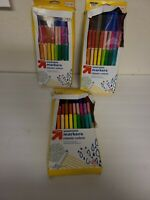 Lot of 3 Boxes Up & Up Washable Markers Classic Colors Pack of 30 Nontoxic NEW