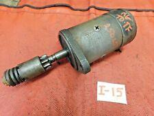 MG TD, MG TF, Lucas Starter Motor, Tested, Prt # 25065, !!