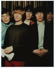 Original Rolling Stones lineup w/Brian Jones 8x10 photo