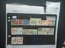 Dinamarca 1949-78 Collection (225+) (todos diferentes) utilizados en stockcards