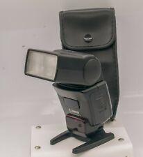 Canon Speedlite 420EX Electronic SLR Camera Flash Unit & Case