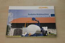 158012) Goweil Rundballen Wickelmaschine G 3010 Prospekt 201?
