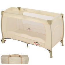 Lit bébé pliant lit de voyage enfant lit d'enfant parapluie parc pour bébé beige