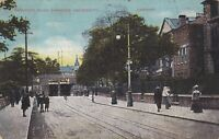 Postcard - Cardiff - Newport Road Showing University