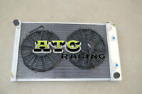 3 Row Aluminum Radiator + Fan For 70-81 Chevy Camaro/ 1975-1979 Chevy Nova