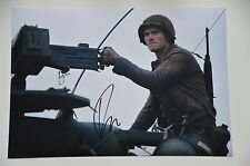 Scott Eastwood signed 20x30cm Fury foto autógrafo/Autograph en persona
