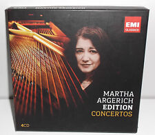 50999 0 94031 2 3 Chopin Prokofiev Martha Argerich Edition Concertos 4CD Box